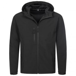 Men's Active Softest Shell Hooded Jacket