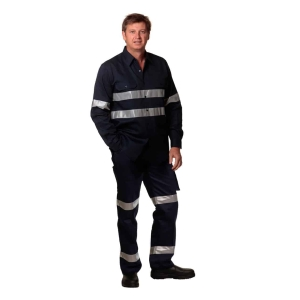 PRE-SHRUNK DRILL PANTS WITH BIOMOTION 3M TAPES Regular Size